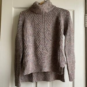 Madewell - Color-Flecked Ribbed Turtleneck Sweater